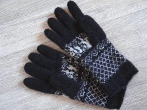 Вяжем перчатки для мужчин