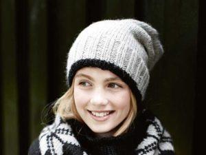 Вязание спицами красивых модных шапок для девочек-подростков