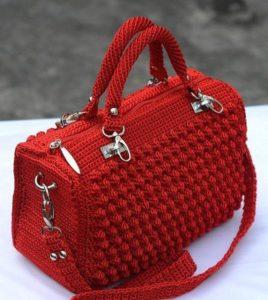 Вязаные сумки крючком