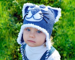 детские шапки вязаные спицами схемы описание фото