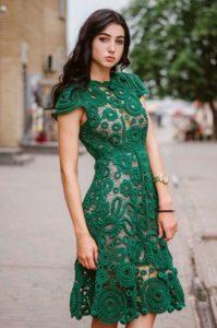 """Зеленое платье """"Ирландия"""""""