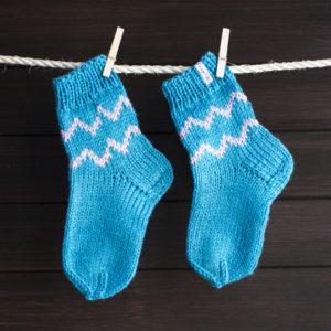 Как научиться вязать носки спицами