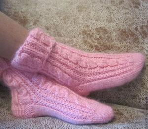 Как подготовиться к вязанию носков
