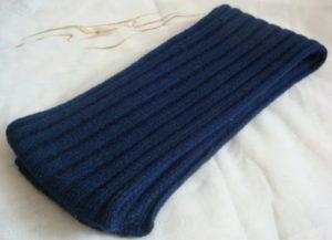 Мужской шарф с английской резинкой
