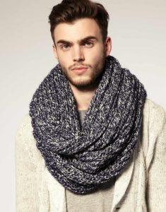 Оригинальные модели шарфиков для вашего мужчины
