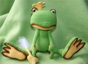 Основы вязания игрушек спицами