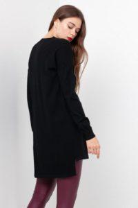 Пальто с удлиненной спинкой