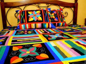 Покрывало на кровать пэчворк