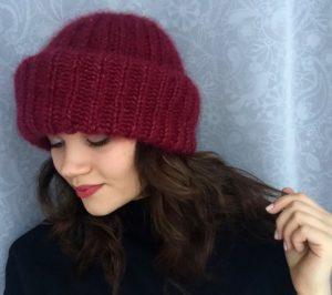 Снятие мерок с головы для вязания шапки спицами